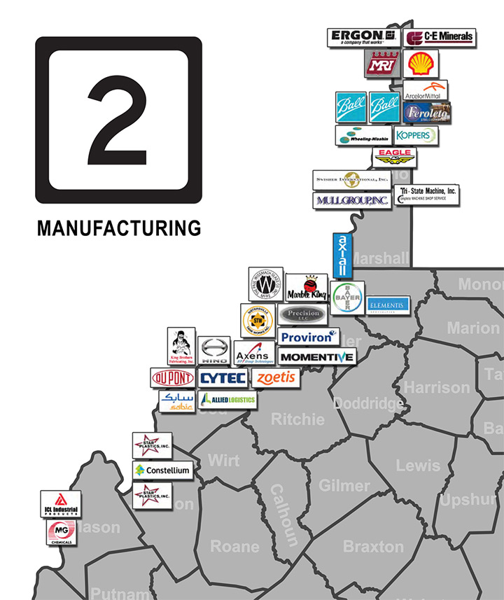 route-2-manufacturing-map